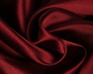 Satijn - Bordeaux rood