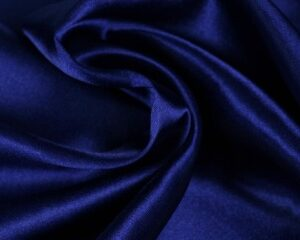 Satijn - Donkerblauw