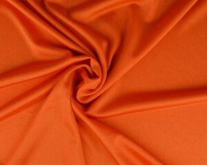 Tricot voering - Donker oranje
