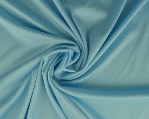 Tricot voering - Aqua blauw